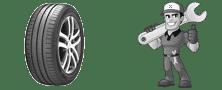 Dépannage roue crevé Gagny