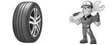 Dépannage roue crevé Persan